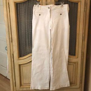 J Crew white pants